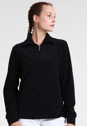 WOMAN - Fleece jumper - nero