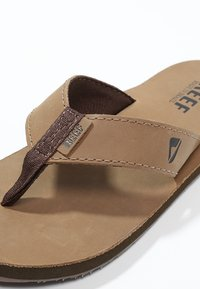 Reef - SMOOTHY - Infradito - bronze brown - 5