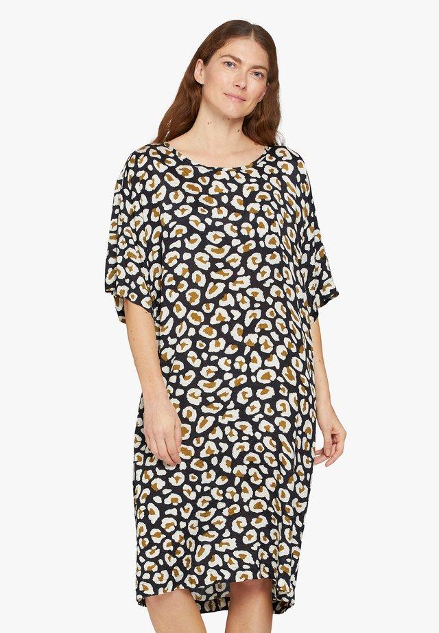 Korte jurk - beech