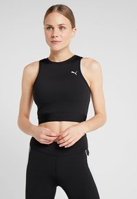 Puma - CROP - Top - black - 0