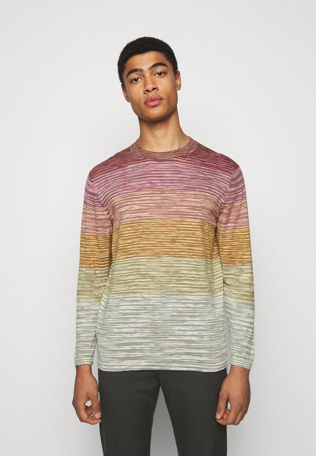 MAGLIA MANICA LUNGA GIROCOLLO - Langarmshirt - multi-coloured
