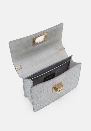 MINI CROSSBODY - Borsa a tracolla - color argento