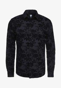 Twisted Tailor - ARMADA SHIRT - Camicia - black - 3