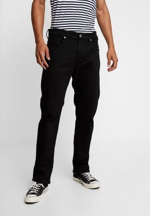 3301 RELAXED - Jeans Relaxed Fit - nero black rinsed