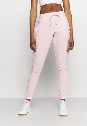 LIFESTYLE GYM TRACK PANTS - Tracksuit bottoms - pink sherbet