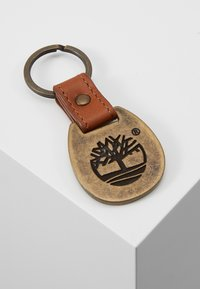 Timberland - CREDIT CARD AND KEY RING GIFT SET - Business card holder - cognac - 7