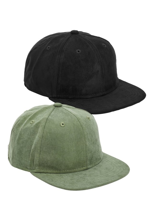 2 PACK CAPS - Cap - black