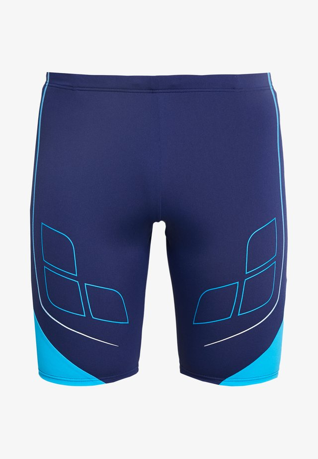 DESTINY JAMMER - Swimming trunks - navy/turquoise