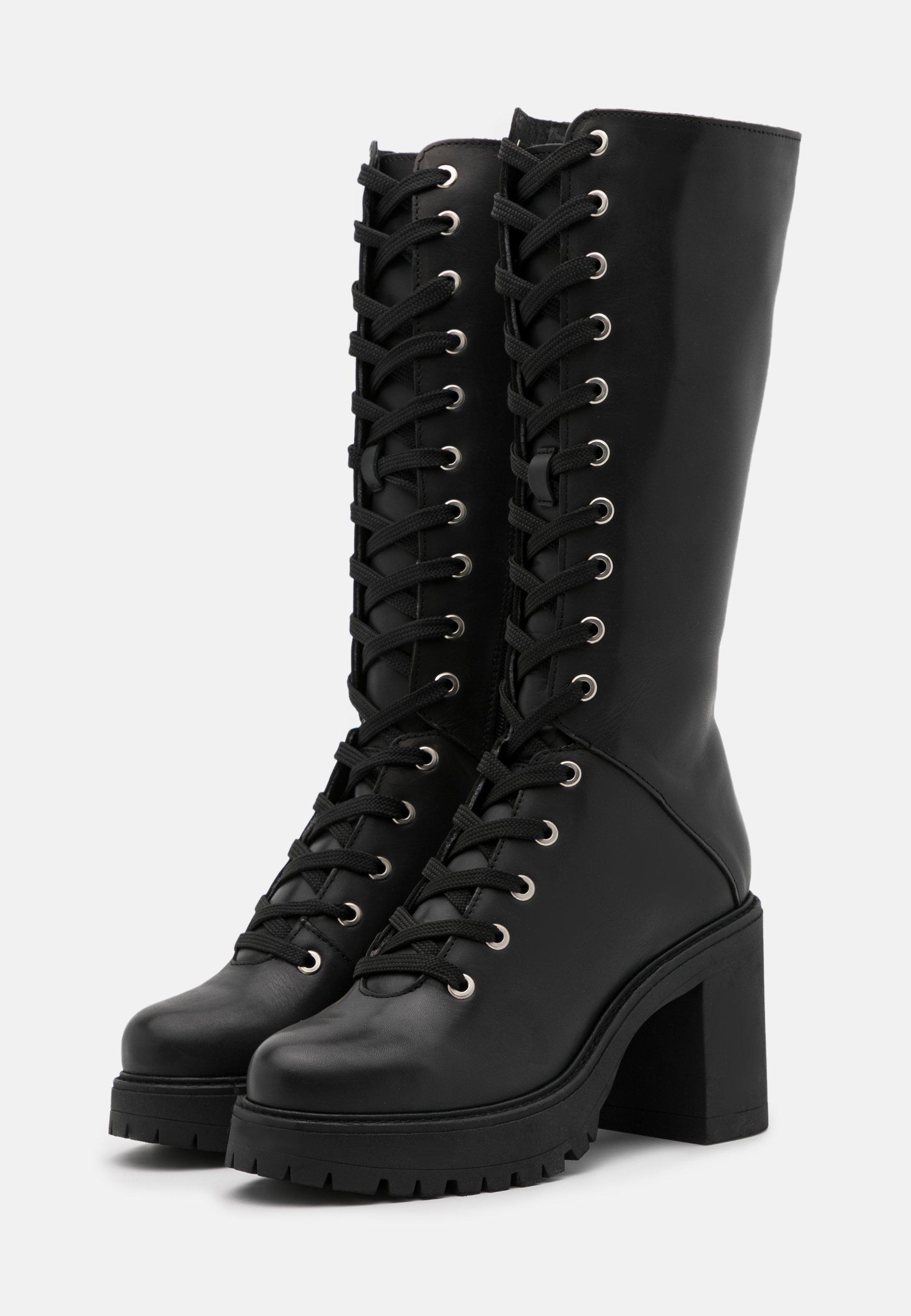 Zign High Heel Stiefel black/schwarz