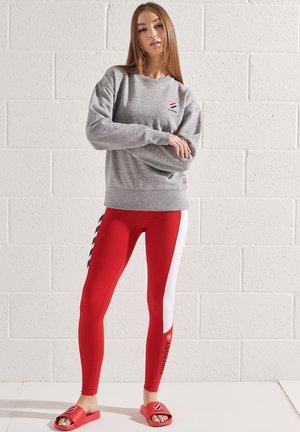 Sweatshirt - grey slub grindle