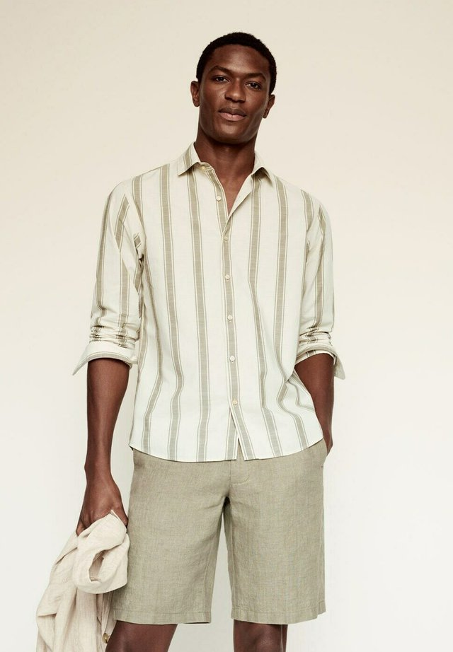 RILEY - Overhemd - khaki
