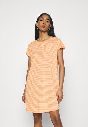 TINA DRESS - Jersey dress - melon