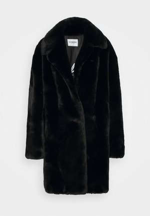 CAPPOTTO TESSUTO - Winter coat - black