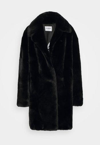 CAPPOTTO TESSUTO - Zimní kabát - black