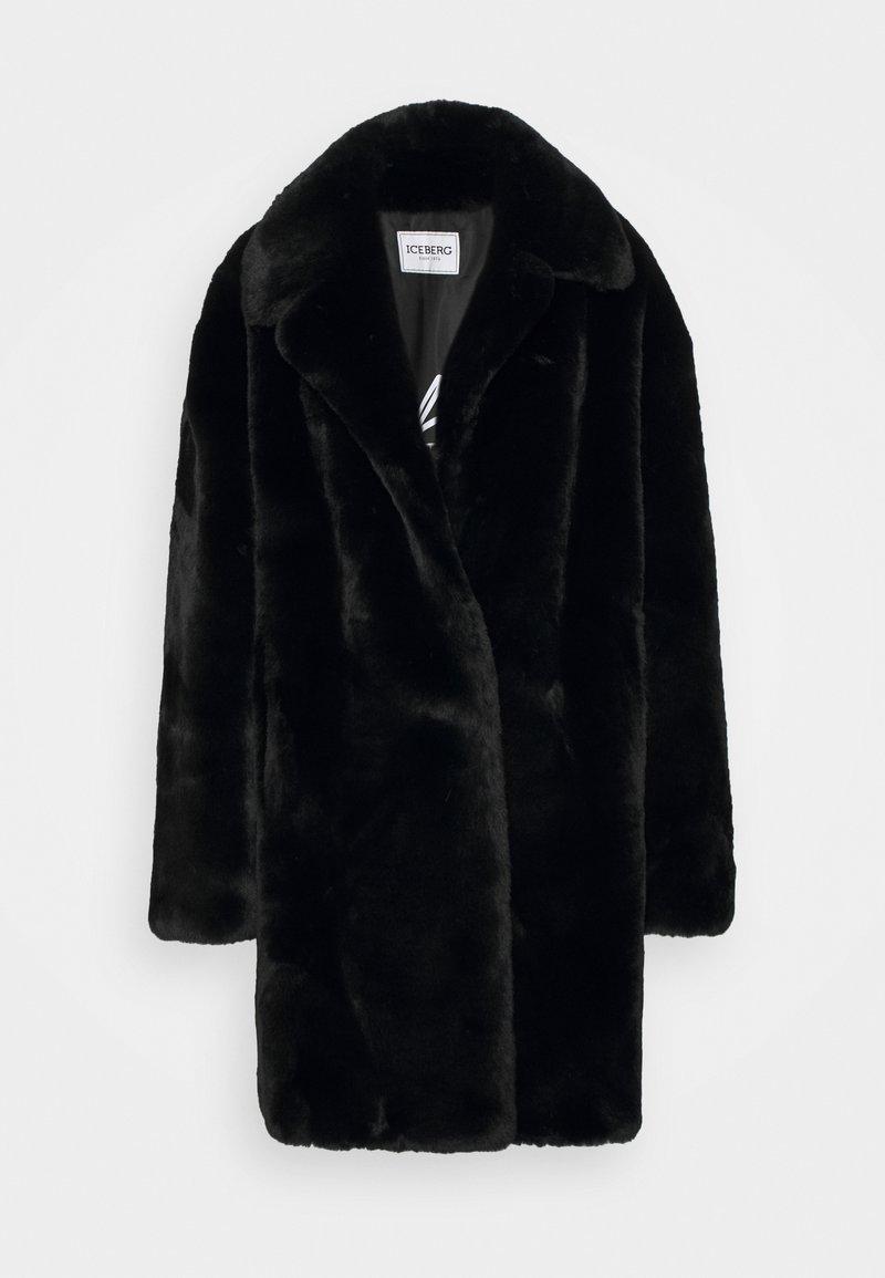 Iceberg - CAPPOTTO TESSUTO - Zimní kabát - black