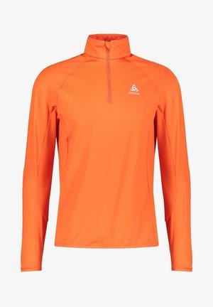 CARVE LIGHT MIDLAYER - Long sleeved top - orange