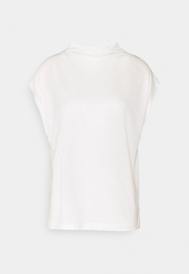 NAMIRA - T-shirt basic - ecru