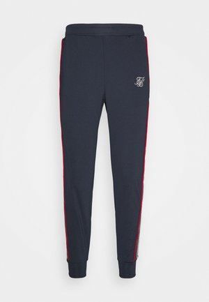 PREMIUM TAPE CUFFED PANT - Tracksuit bottoms - navy