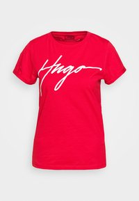 THE SLIM TEE - Print T-shirt - bright red