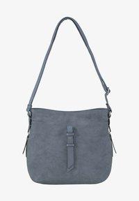 TOM TAILOR - Across body bag - mid blue - 0