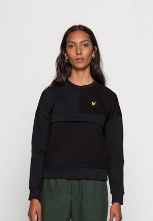 CANVAS MIX - Sweatshirt - jet black