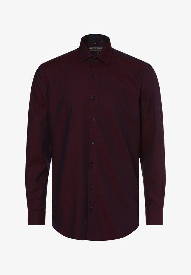 HEMD - Formal shirt - bordeaux