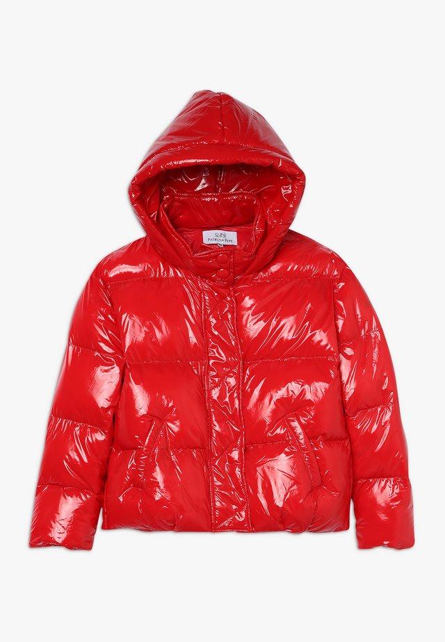 PIUMINO LUCIDO - Winter jacket - rosso