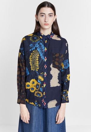 DESIGNED BY M. CHRISTIAN LACROIX - Button-down blouse - blue