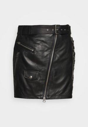 SKIRTS - Minirok - black