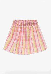 Lemon Beret - SMALL GIRLS SKIRT - Jupe trapèze - pink/yellow - 1