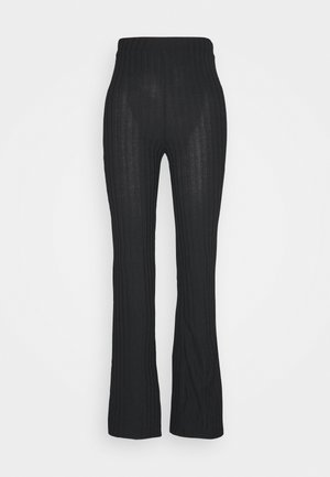 TORA TROUSERS  - Trousers - black dark
