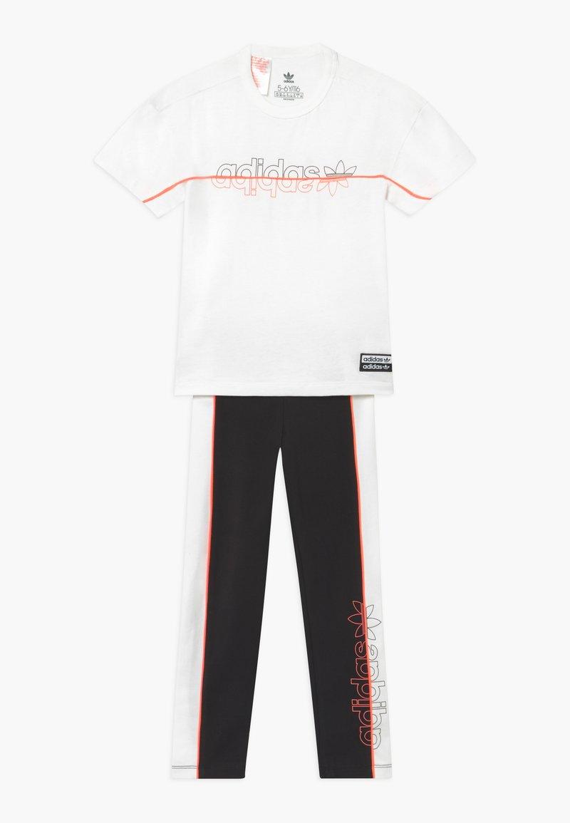adidas Originals - TEE SET - Legging - white