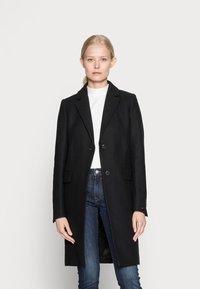Tommy Hilfiger - CLASSIC COAT - Classic coat - black - 0