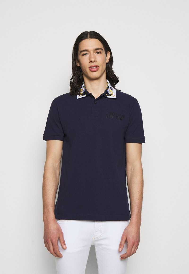 Versace Jeans Couture - PLAIN - Polo shirt - dark blue