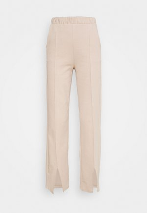 KLARA TROUSERS - Trousers - oxford tan
