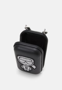 KARL LAGERFELD - IKONIK CLUTCH - Across body bag - black - 2