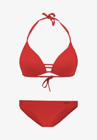 Bruno Banani - TRIANGEL SET - Bikini - rot - 4