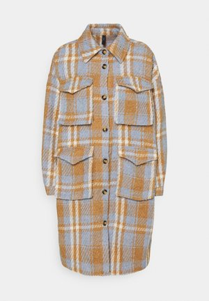 YASBILLY LONG SHACKET  - Classic coat - eggnog