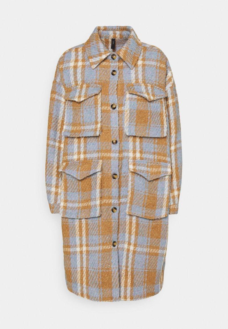 YAS - YASBILLY LONG SHACKET  - Classic coat - eggnog