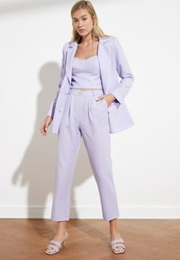 Trendyol - PARENT - Pantalones - purple - 3