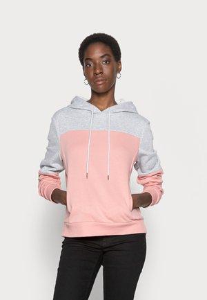 ONLINC JOEY EVERYHOOD - Sweatshirt - light grey melange/rosette