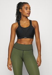 Shock Absorber - ACTIVE D + CLASSIC BRA - High support sports bra - black - 0