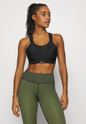 CLASSIC SUPPORT - High support sports bra - black