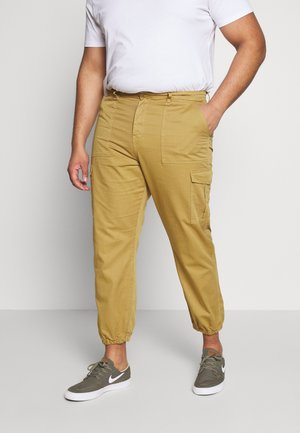 PLUS TROUSERS - Pantaloni cargo - sand