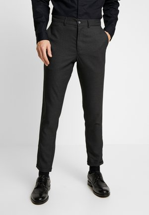 CLUB PANTS CHECKED - Pantaloni - grey