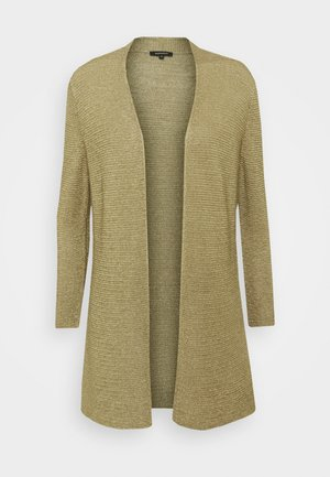 CARDIGAN - Cardigan - muddy green