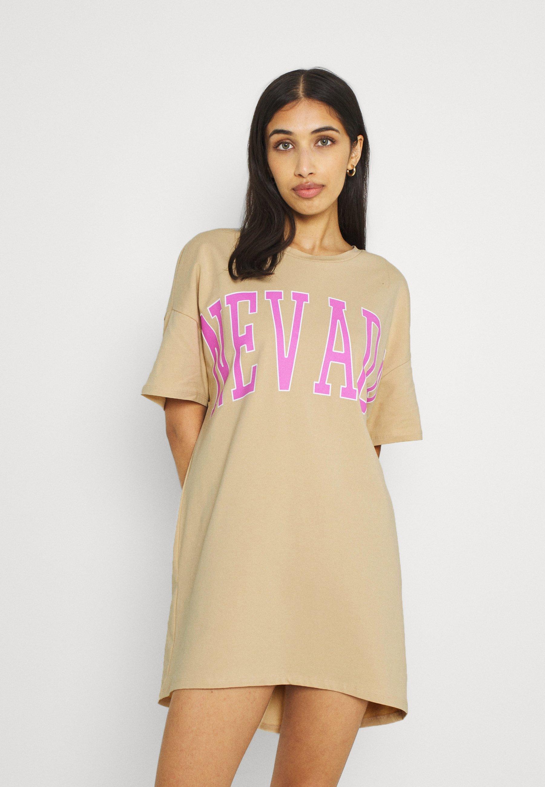Women PCJAYDEN TEE DRESS - Jersey dress