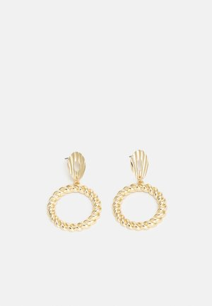 PCPARI EARRINGS - Earrings - gold-coloured