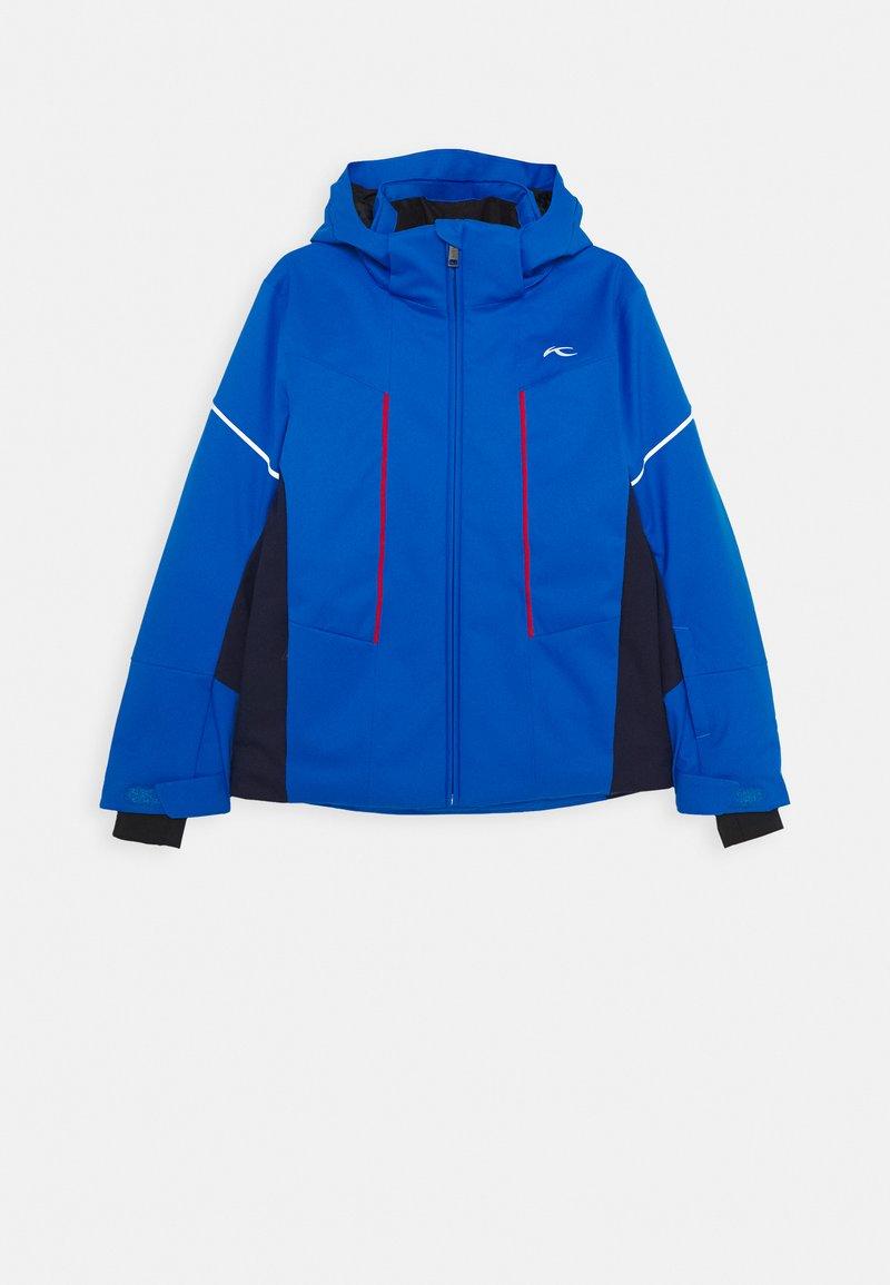 Kjus - BOYS SPEED READER - Lyžařská bunda - blue