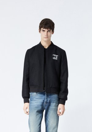 TEDDY - Bomber Jacket - black